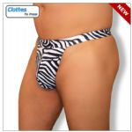 Zebra Mens Swim G String